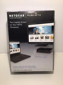 Netgear. Push computer screen to tv screen.