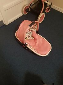 Cosatto Giggle 3 in 1 Pink Leather