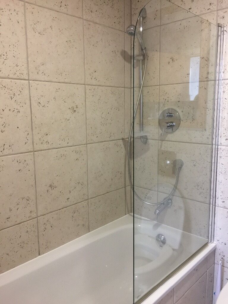 Shower room toilet sink suite with all taps shower fittings