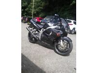 HONDA CBR 900 RRV 918 FIREBLADE MOT HPI CLEAR GENUINE LOW MILEAGE CLEAN MOTORCYCLE