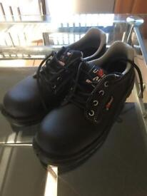 Safety Steel toe Cap Shoes UK Size 4