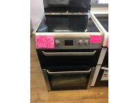 BEKO 60CM BRAND NEW CEROMIC TOP ELECTRIC COOKER IN SILIVER