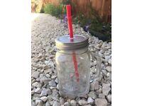 Glass mason jug for sale house clearance