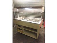Salad bar fridge,display tecfrigo buffet , commercial top counter fridge