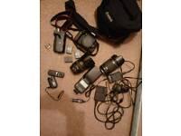 Canon 750D + canon 85mm 1.8 +extras