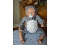 Reborn Newborn Dolls Handmade Lifelike Baby Boy Girl Doll Silicone Vinyl