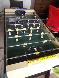 TABLE FOOTBALL - hardly used so in great condition