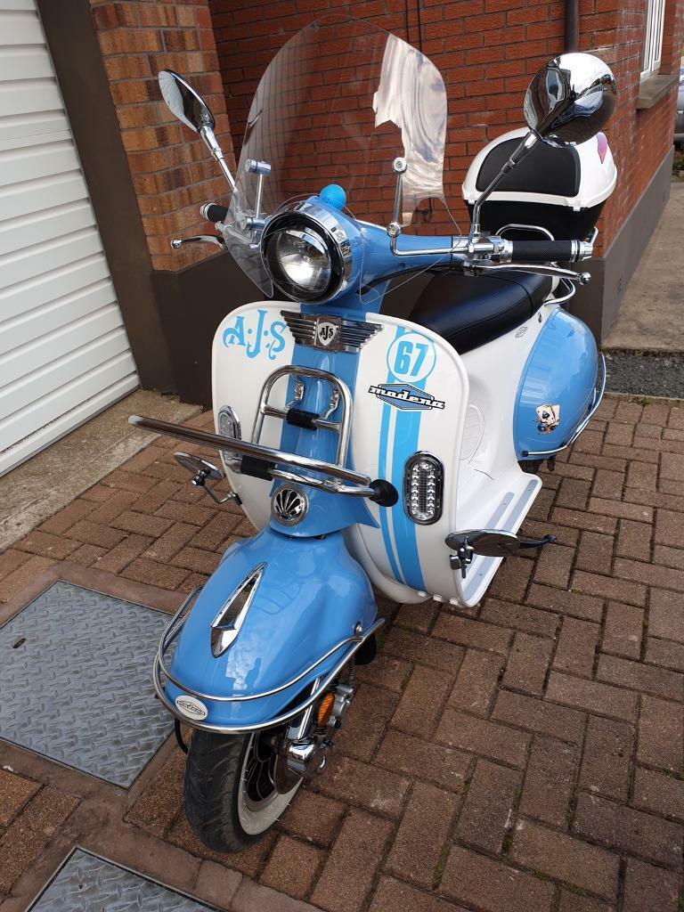 AJS Modena 125 125cc - Lowest Rate Finance Around - UK