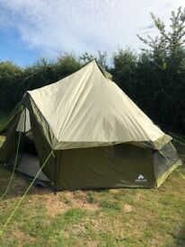 8 man tent and accessories