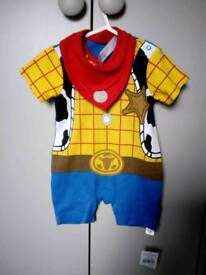 Brand new with tags Woody outfit 0-3 months
