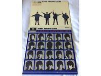 Original Beatles Vinyl Records.