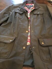 ladies Barbour Jacket, size 14