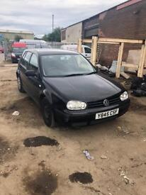 VW GOLF SDI 1.9 DIESEL ****BREAKING FOR SPARES****