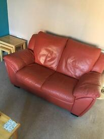FREE 2 seater leather sofa for free pickup only
