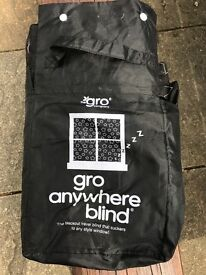 Gro anywhere portable blackout blind - good condition