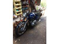 AJS 650cc Motorcycle 1959
