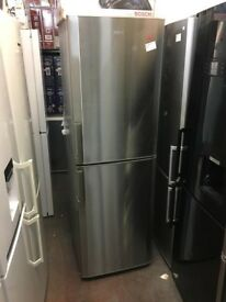 BEKO TALL STAINLESS STEEL FRIDGE FREEZER