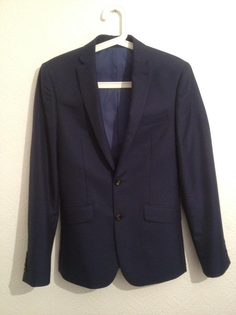 M&S Suit Jacket New Navy Blue S 46