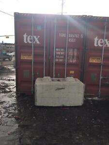 40 foot highcube seacan container - $2990 FOB or $3200 delivered in Edmonton (highcube = 344 cu feet extra space!)