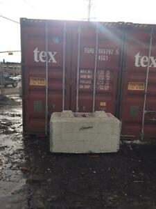 40 foot highcube seacan container - $2350 FOB or $2599 delivered in Edmonton (highcube = 344 cu feet extra space!)