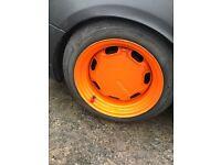 14'' banded steel wheels for sale/swap