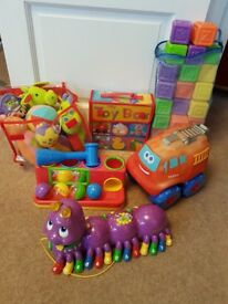 Bargain toddler bundle of toys inc Leapfrog Alphabet Pal