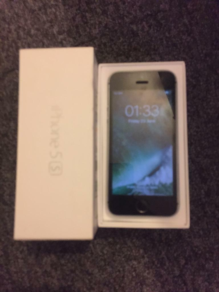 IPhone 5s 16gb EE boxedin Bulwell, NottinghamshireGumtree - IPhone 5s 16gb EE network In very good condition Couple small marks on top edge nothing major just being honestThe rest immaculate All working as it should Will be reset in front of buyer so no iCloud and find my iPhone turned offBoxed with charger...