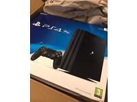 NEW - PS4 PRO 1tb