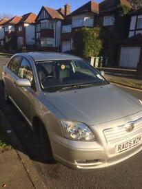 TOYOTA AVENSIS 2.2 DIESEL 2005 PRIVATELY OWNED