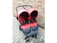 Britax B-Agile Twin Double Pushchair Stroller