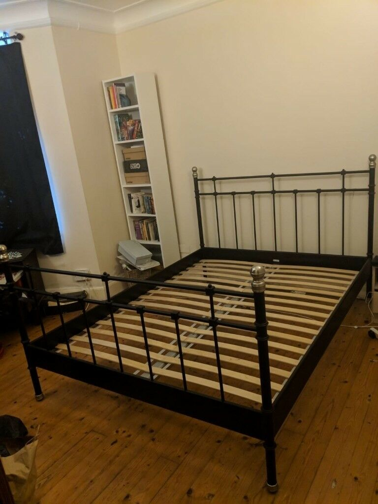IKEA SVELVIK Queen sized bed   disassembled   £30 | in