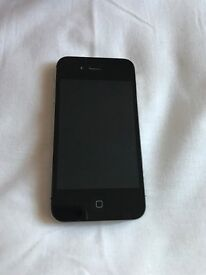 Apple iPhone 4s black 8gb mint condition