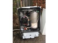 1 year old Worcester 24Ri boiler and flue plus expansion vessel and Honeywell controls