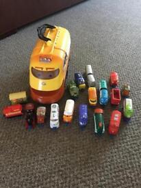 Chuggington trucks collection