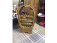 Beautiful wood wine rack