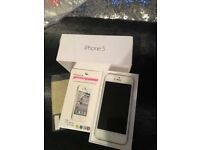 iPhone 5 as new in box 16GB