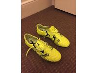 ADIDAS X 15.1 Soft Ground Size 9.5 UK + boot bag