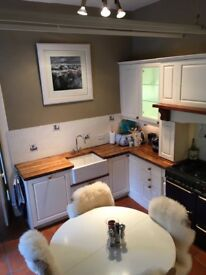 Hand painted wooden Burndale Kitchen