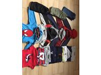 Bundle of boys clothes age 7