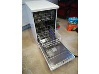 Beko DFS05010W Free standing slimiline dishwasher