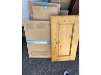 Pine Kitchen Door Brand New -solid