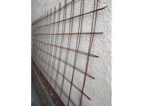 Iron concrete reinforcement mesh