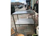 Stainless steel work top