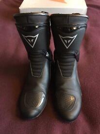 Dainese Trq Tour Goretex Motorcycle Boots Size 7/41 Unisex