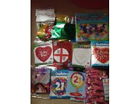 From 20p per item! Surplus wholesale joblot clearance business: Balloons, weights, sweets, slippers