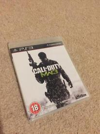 PlayStation 3 call of duty game