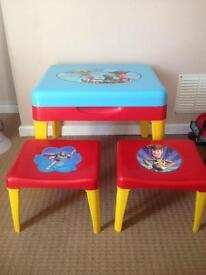 Disney table and chairs