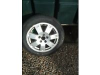 2004 ford mondeo zetec alloy wheel and new tyre