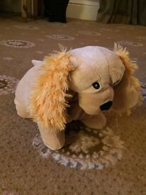 Children's Microwaveable Dog Pillow & Soft Toy.