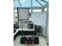Interfit EX150 Mark II Studio Lighting Kit